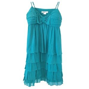 Kenzie 100% Silk Tiered Dress